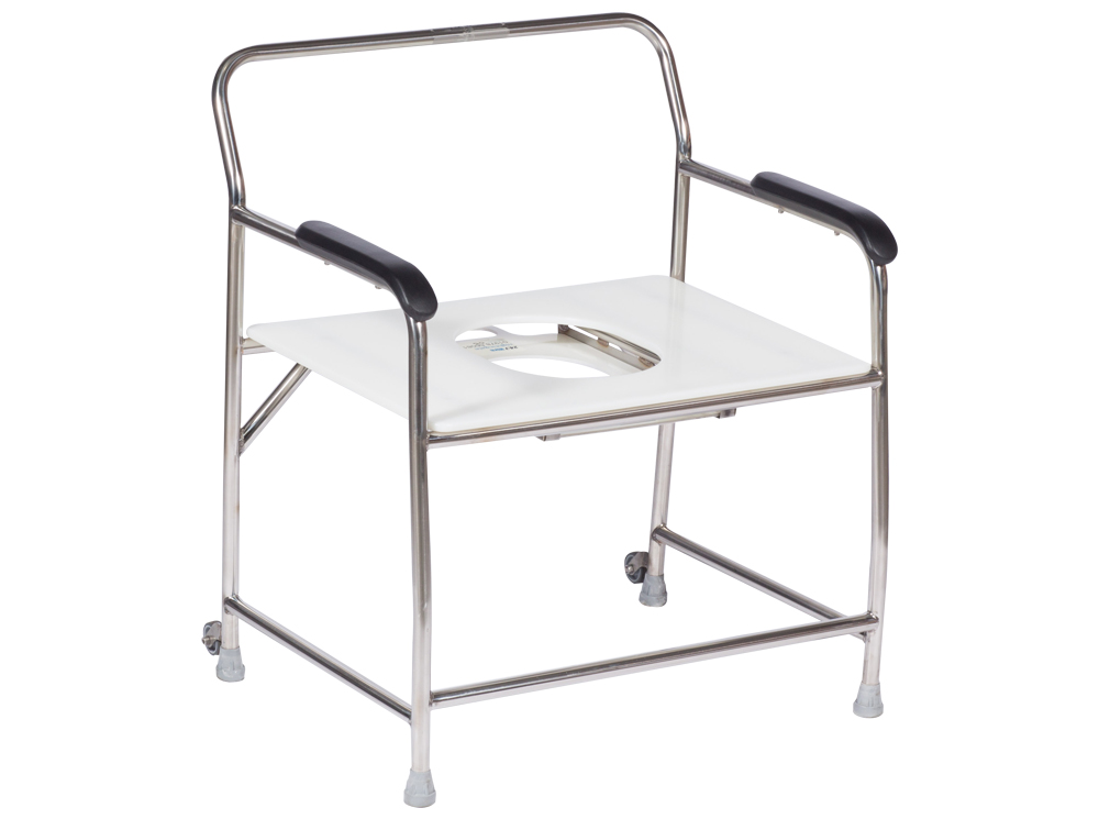 Commode Shower Chair Nightingales 318kg Direct