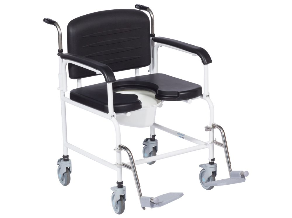 Commode Shower Chair X499 250kg Direct Healthcare Group