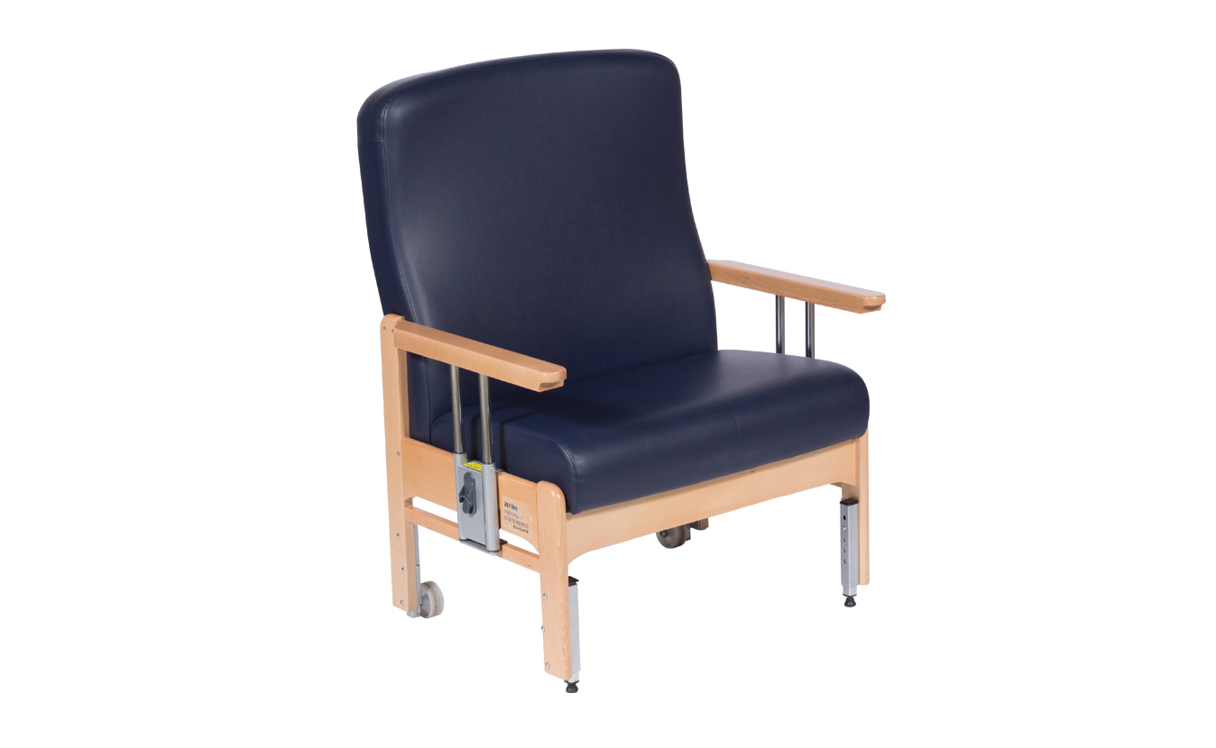 Static Bariatric Bedside Chair