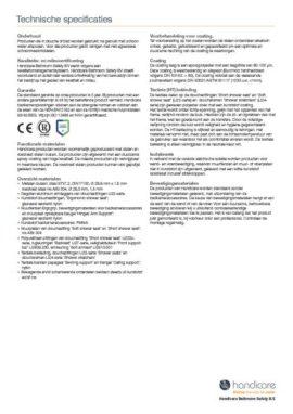 Technische specificaties